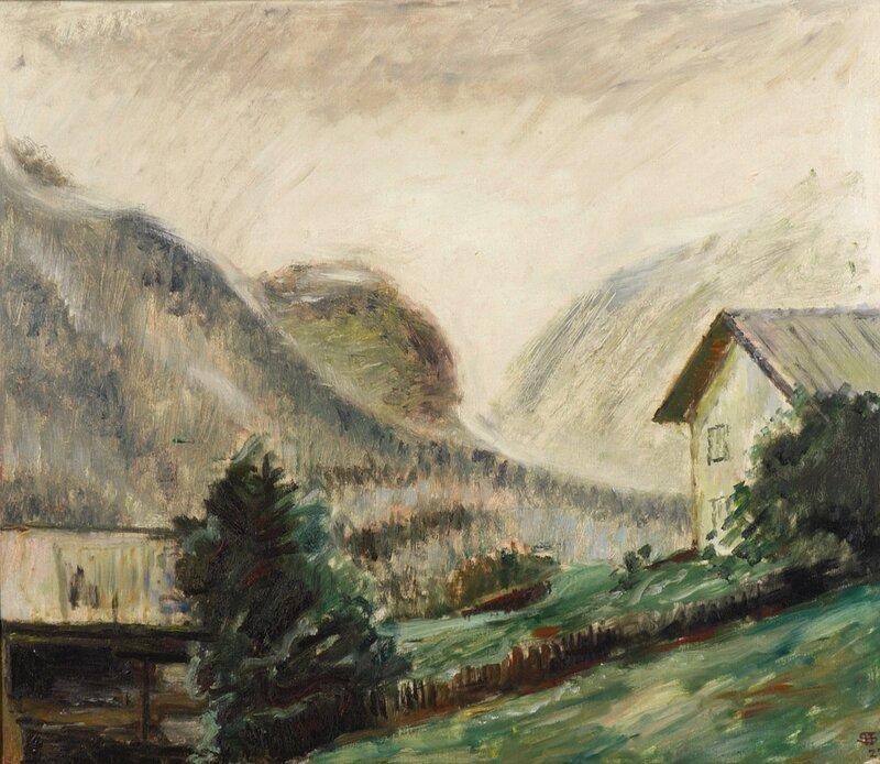 Øsregn i Vinje 1927