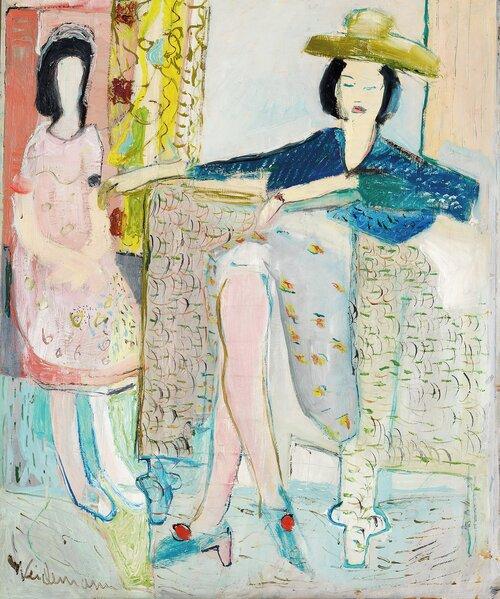 To kvinner i interiør