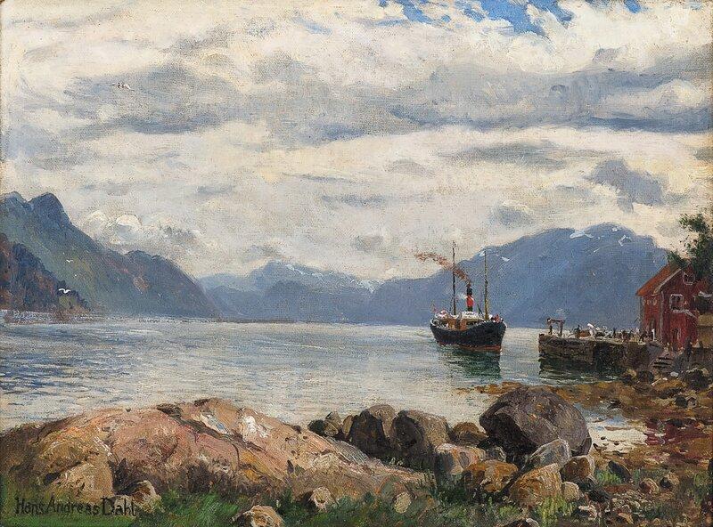 Fjordabåten kommer