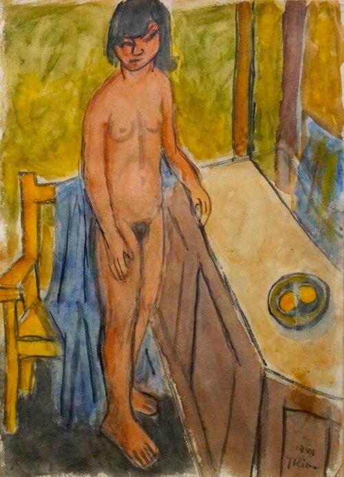 Nude in Interior 1948