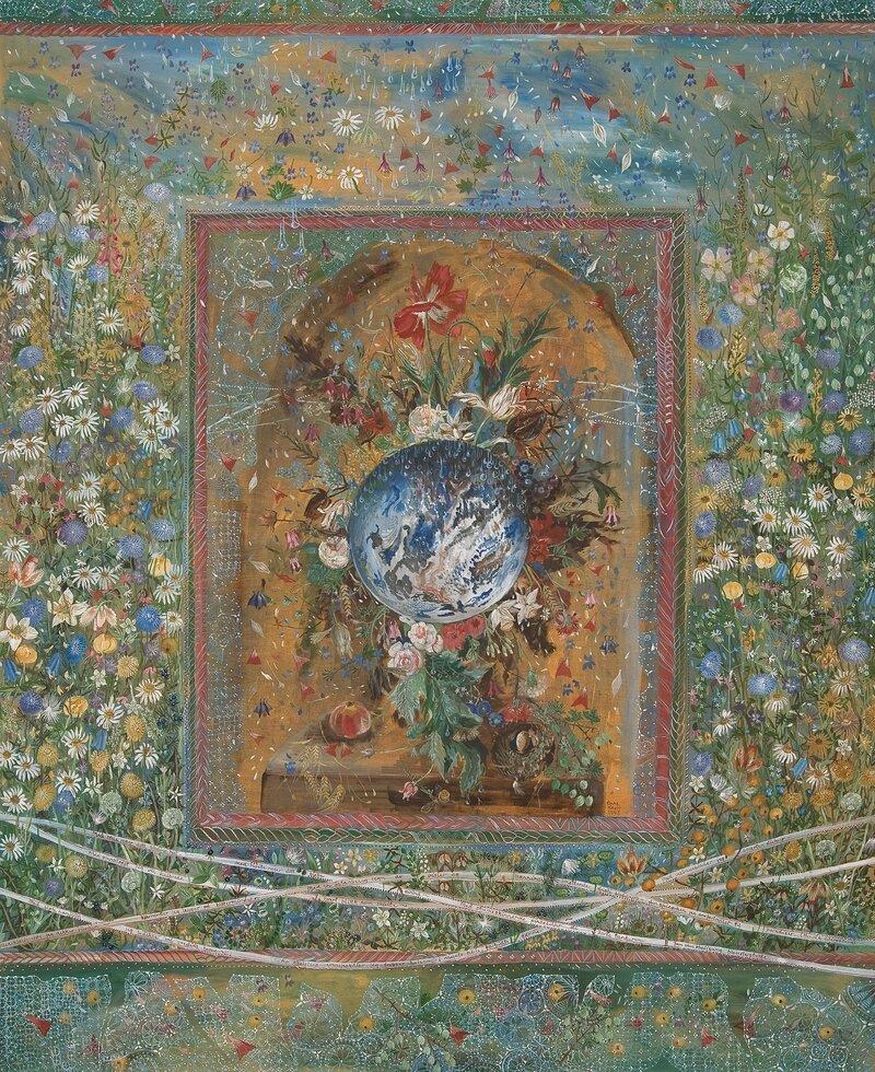 Jan Van Huysums blomsterstykke 1973