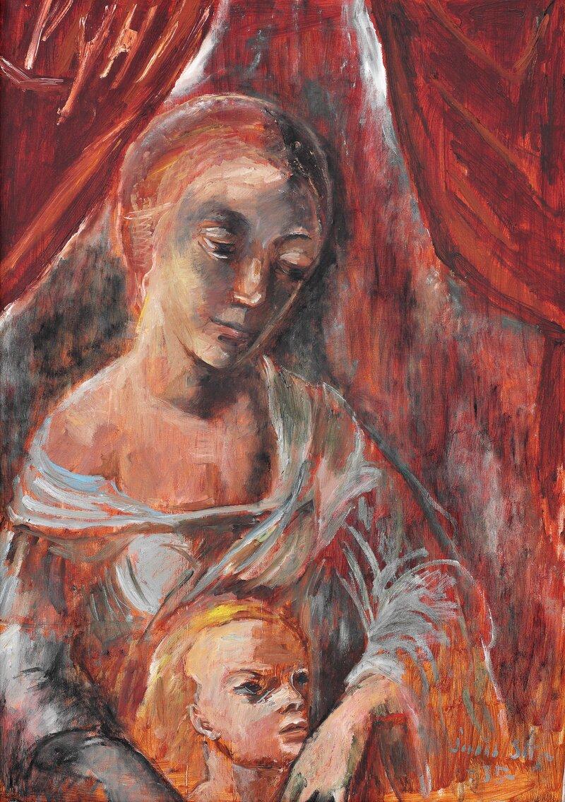 Mor og sønn 1935