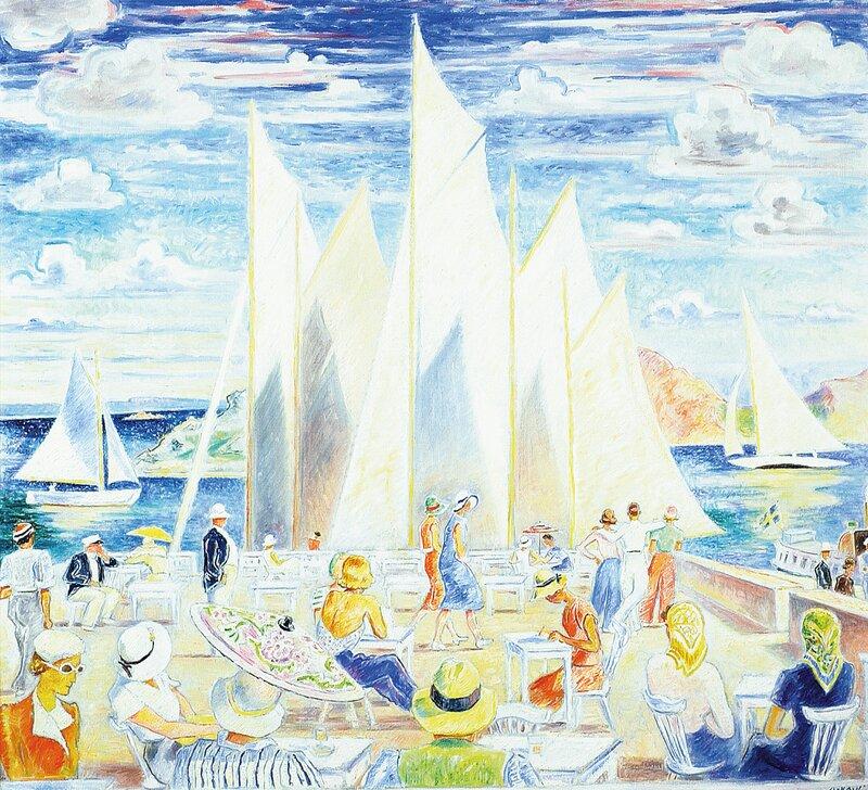 Sommerdag i Fiskebäckskil