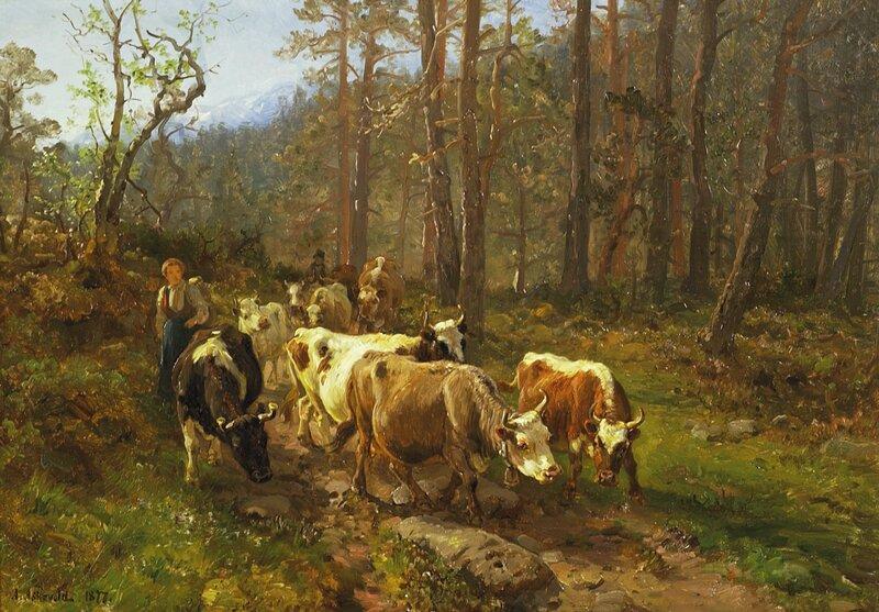 Gjennom skogen 1877
