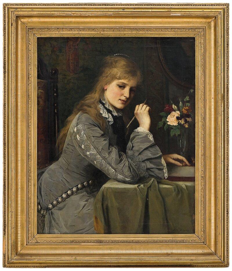 Brevskriverske 1880