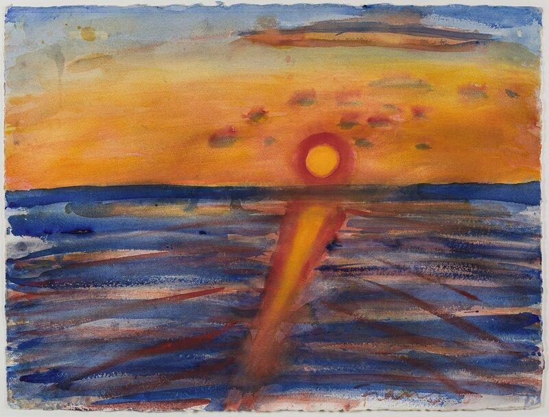 Solnedgang 1981