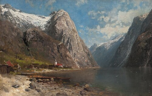 Fra Nærøfjord 1879
