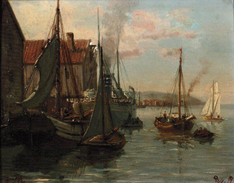 Havneparti 1890