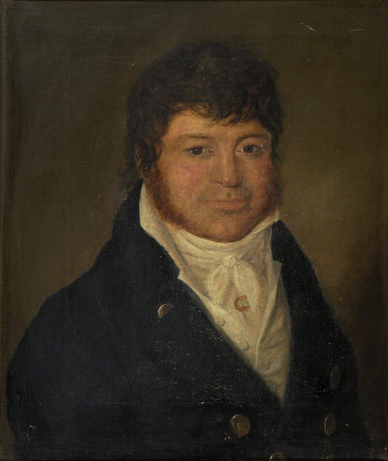 Portrett av Lauritz Nicolai Kraft