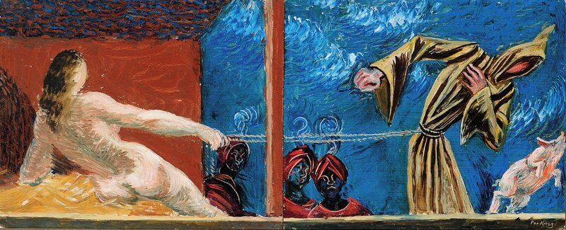 Josef og Potifars hustru, fantasi