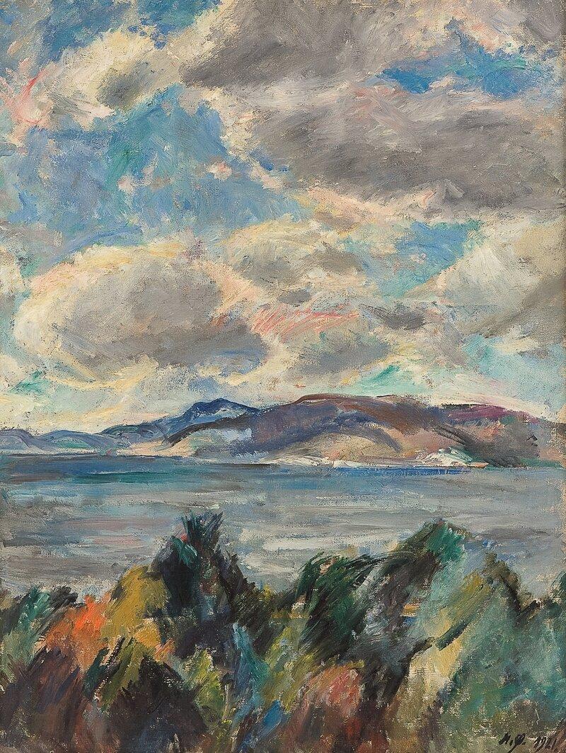 Innseilingen til Bergen 1921