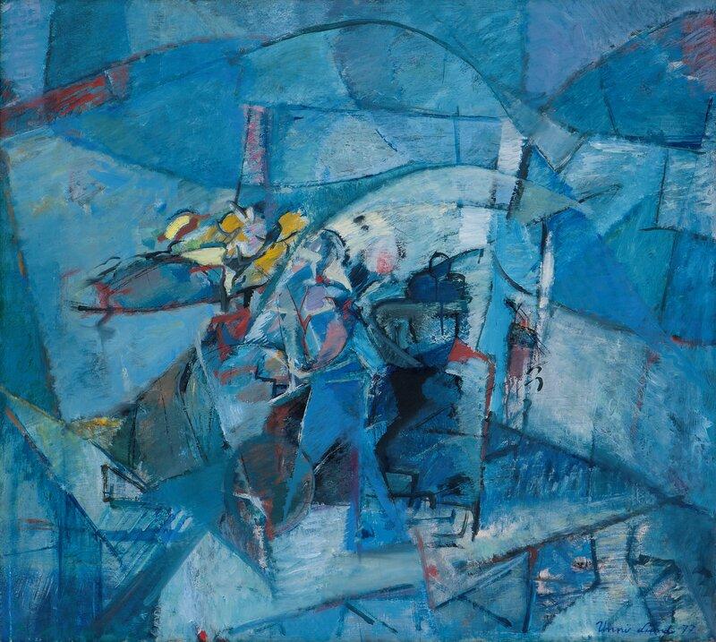 I et blått rom 1977