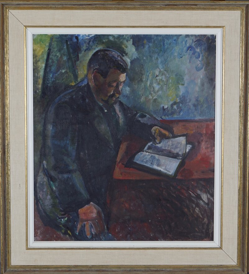 Portrett av Wilhelm Wetlesen 1917