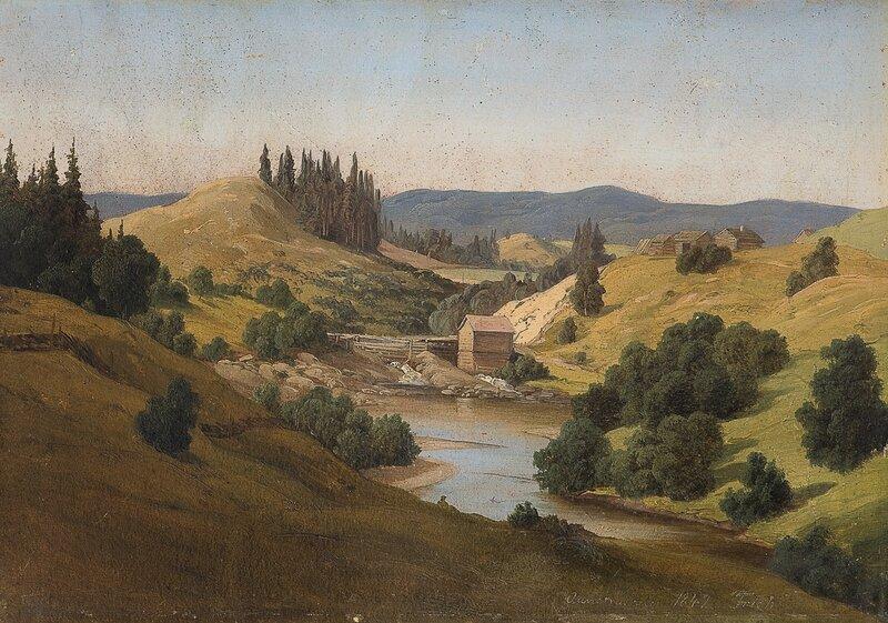 Aanesruddalen, Nannestad 1842
