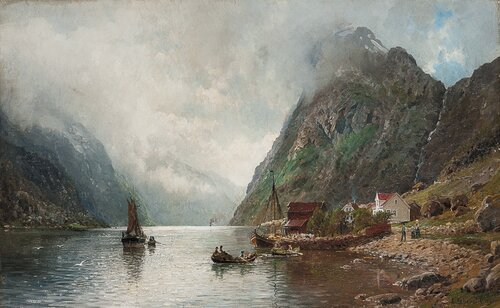 Sognefjord 1888