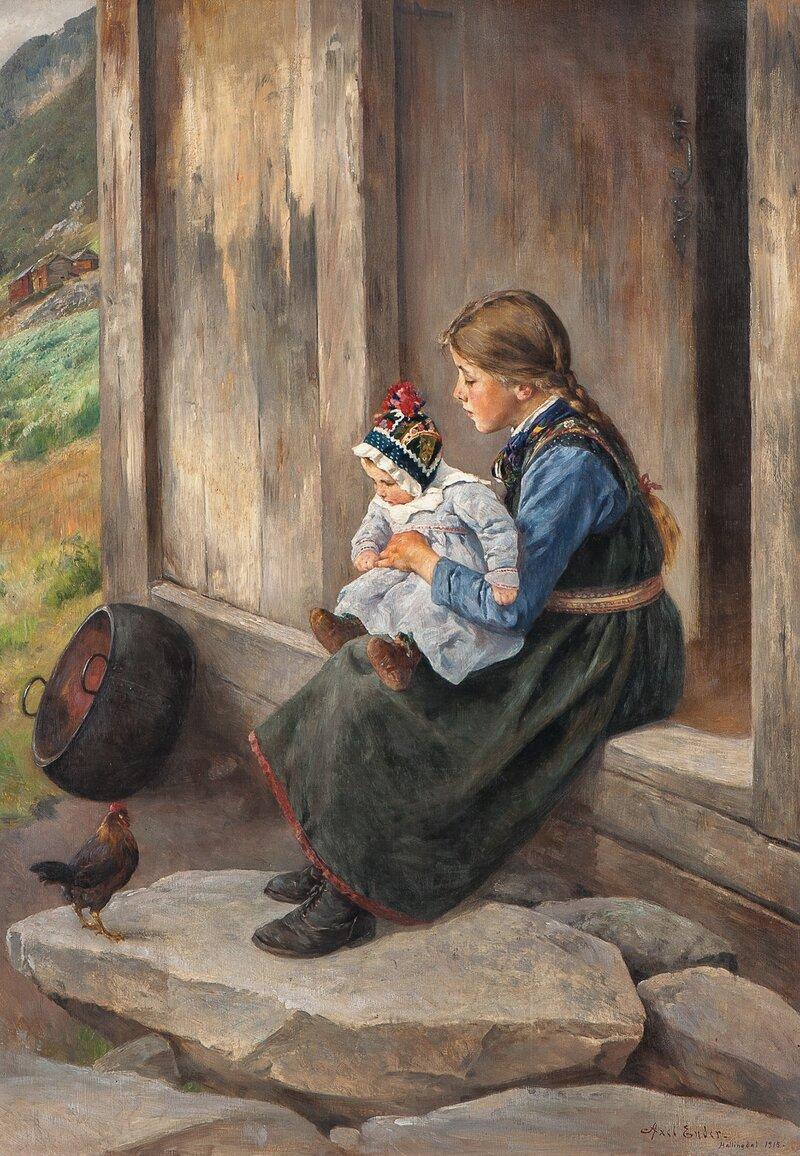 Søstre, Hallingdal 1915