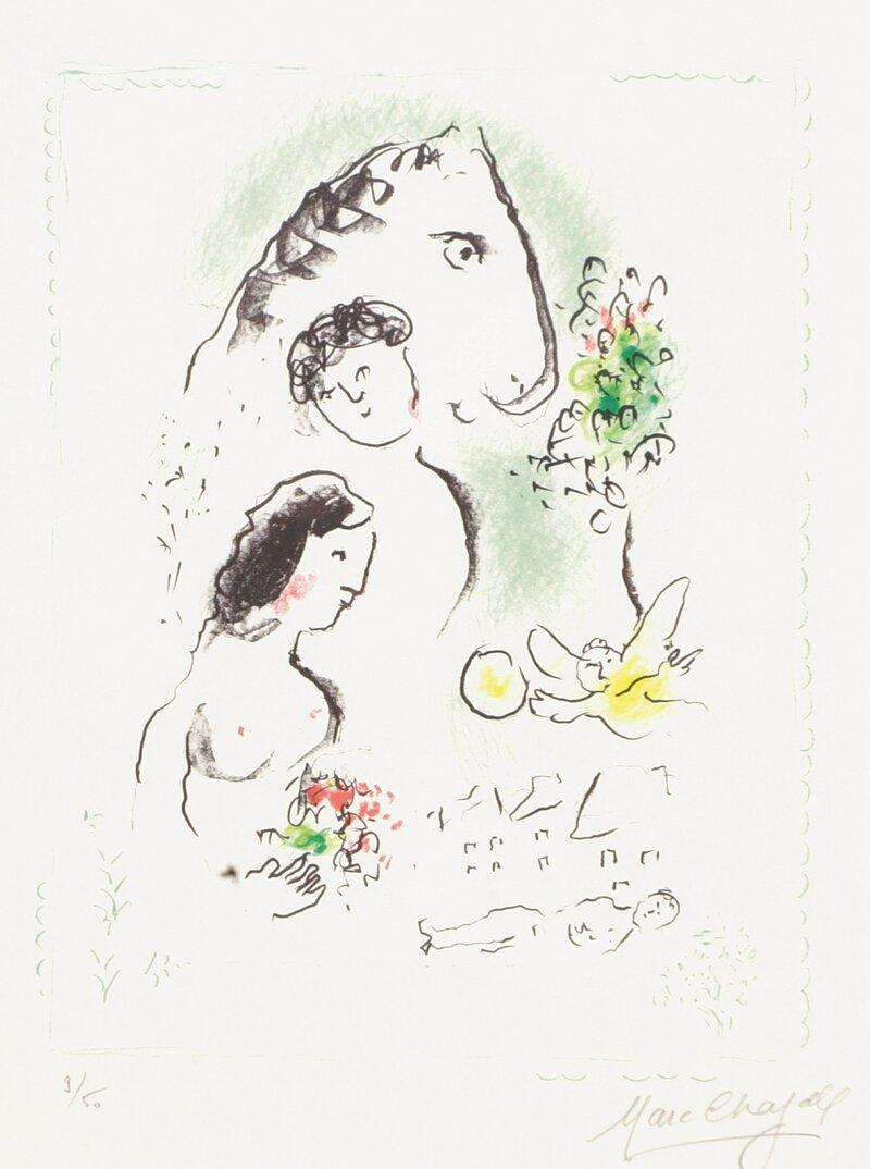 Le peintre aux trois bouquets