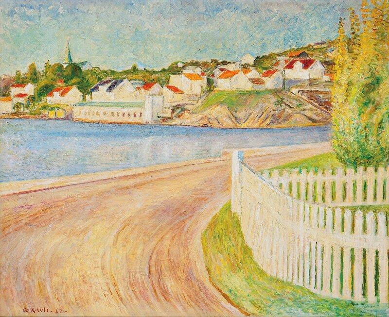 Fra Rønnes, Grimstad 1962