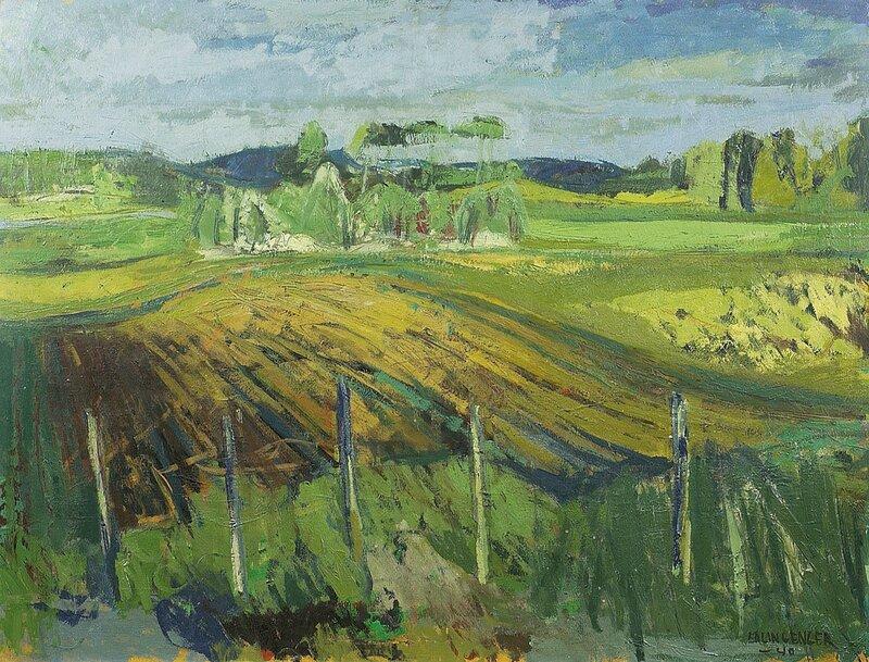 Åkerlandskap 1940