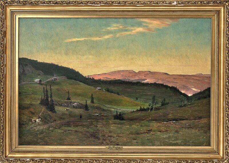 Høstaften i høyfjellet, Eggedal