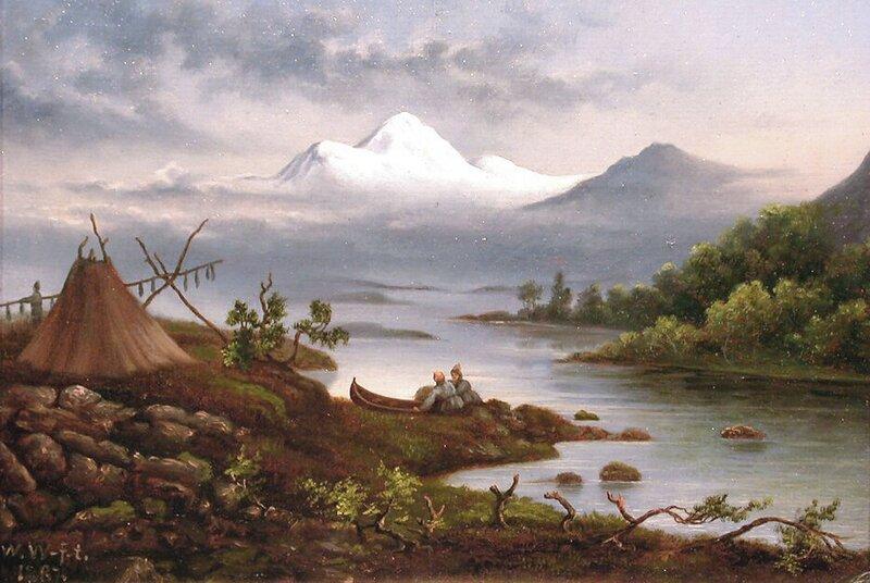 Stalkafjellet i Lappland 1887