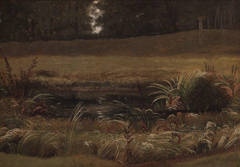 Landskapsstudie 1838