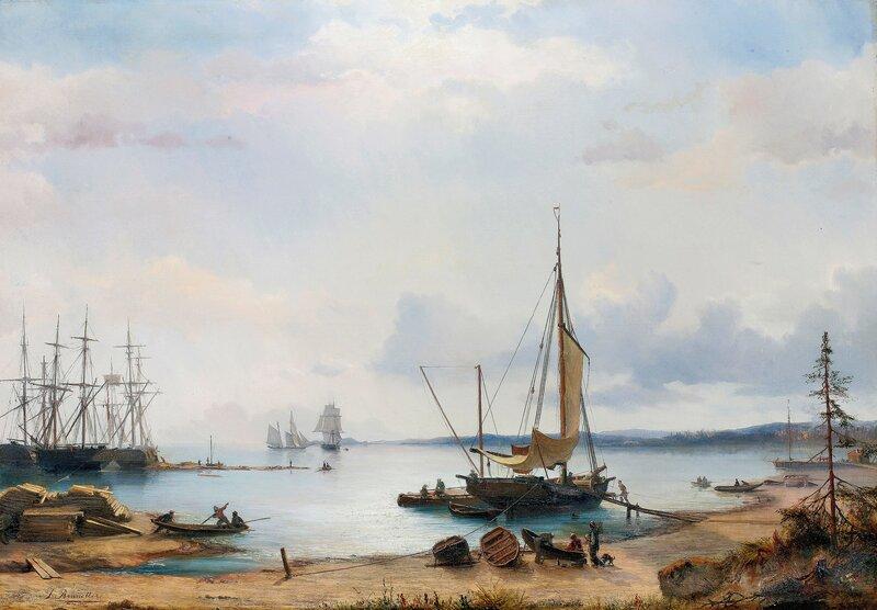 Fra Larkollen 1853