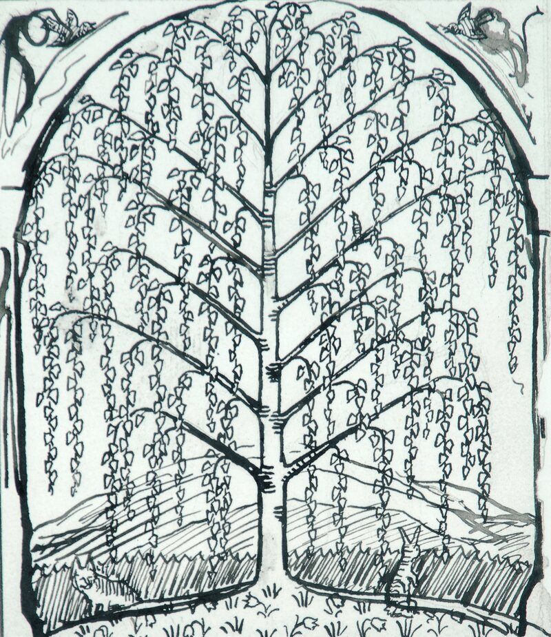 Birch Tree (The Tree of Life)
