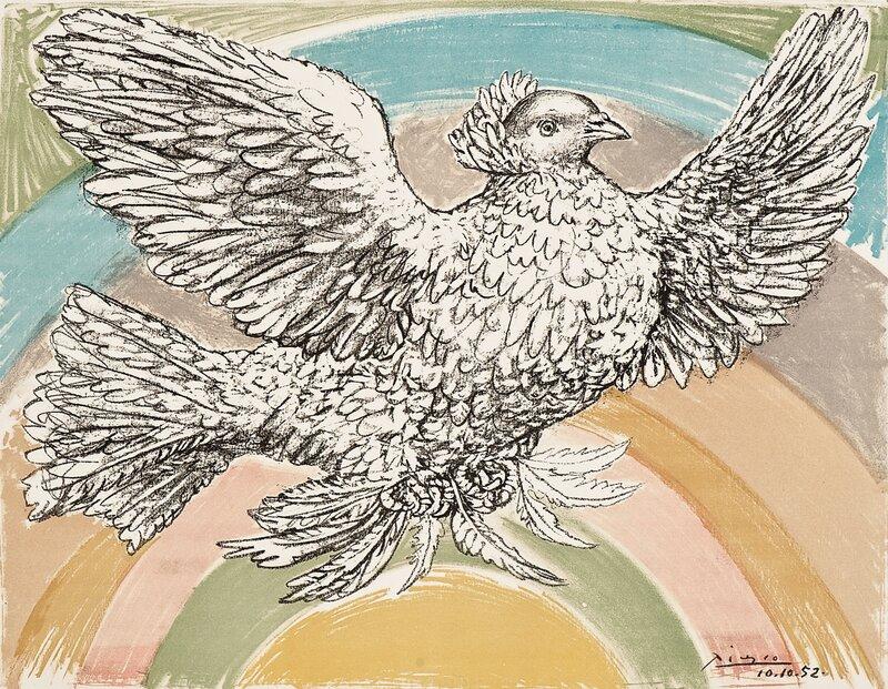 Flyvende due
