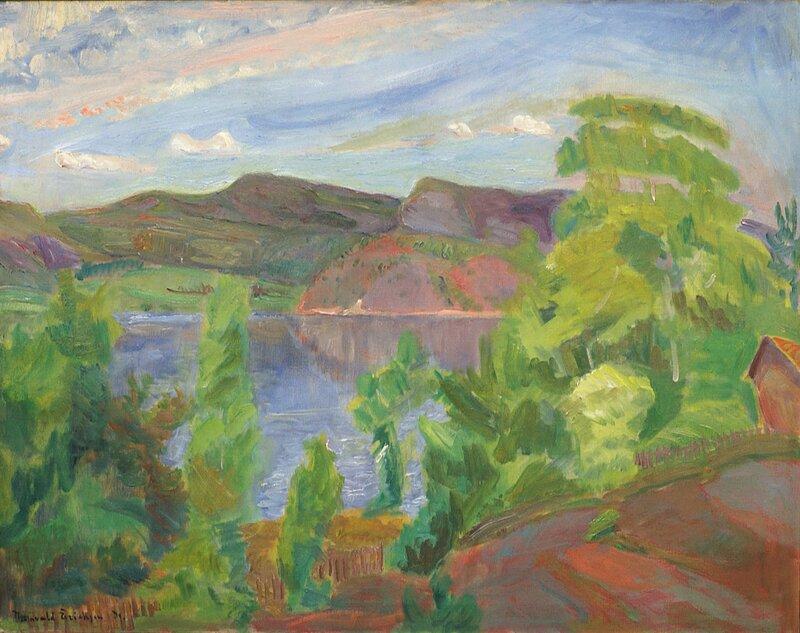 Fra  Holmsbu 1931