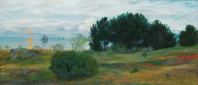 Skråvika, Stavern 1898