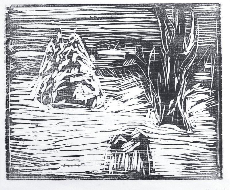 Hagen i snø I
