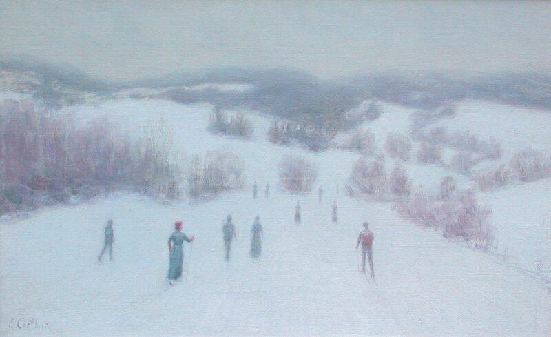 På ski fra Bogstad