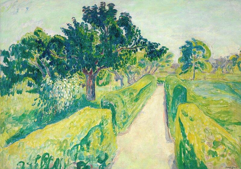 Solskinn i hagen 1913