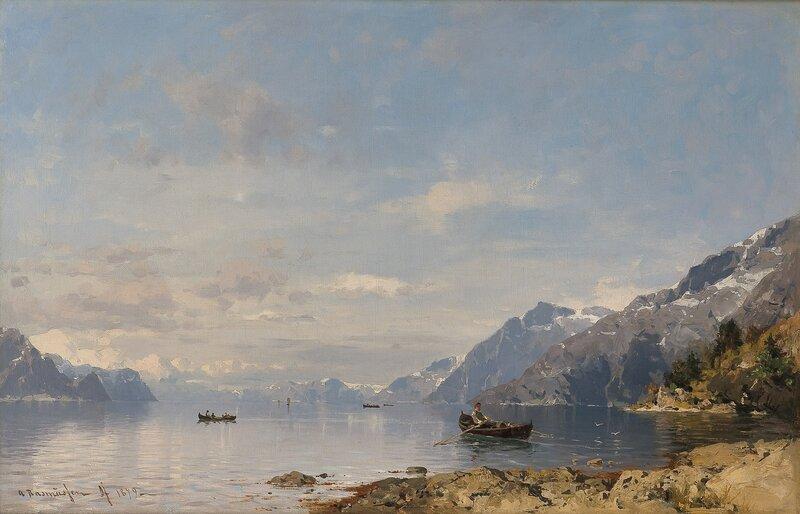 Fjordlandskap 1879