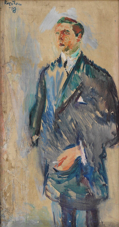 Portrett av skipsreder Ørvig 1918