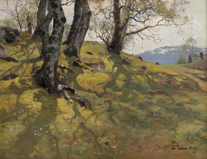 Vår på Stord Mai 1889