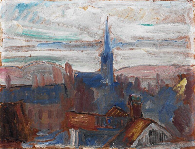 Kirken. Lillehammer 1932