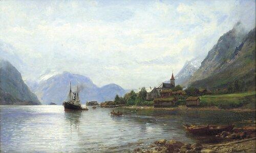 Sæbø i Sundfjord 1892