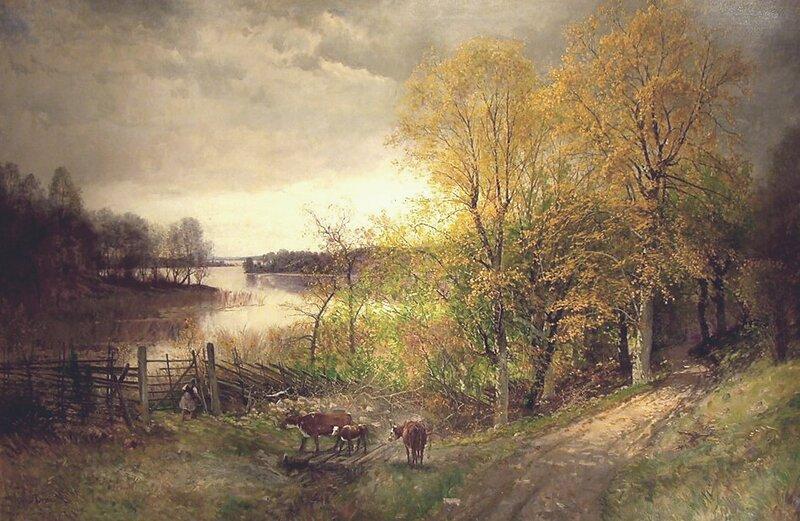 Høstlandskap 1889