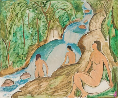 De badende 1939