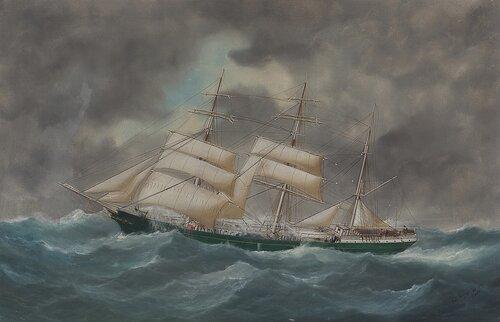 Seilskuten Pericles 1909