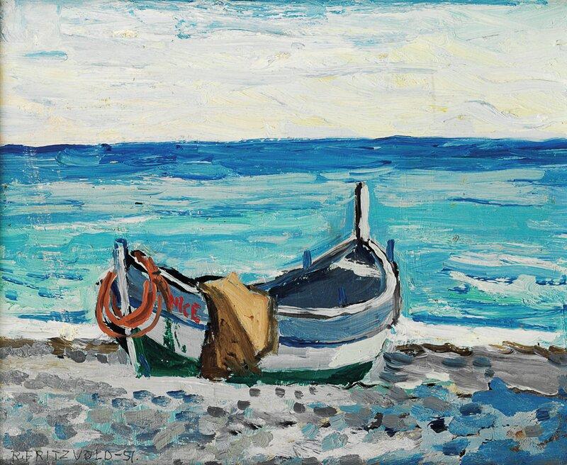 Beau rivage, Nice 1951