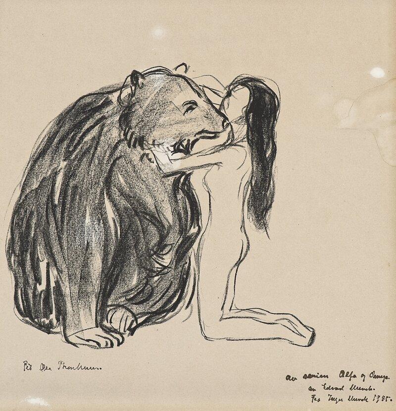 Kvinnen og bjørnen