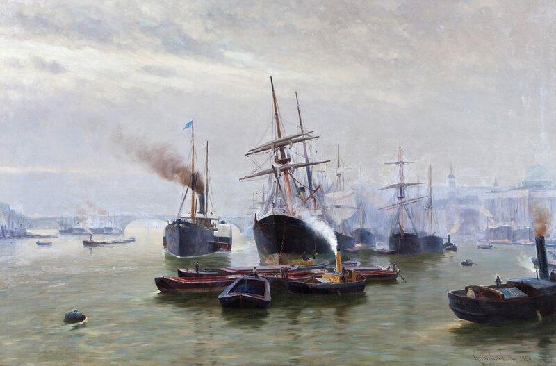 Havneparti 1886