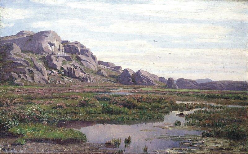 Fra Jæren. Ogna, sommer 1901