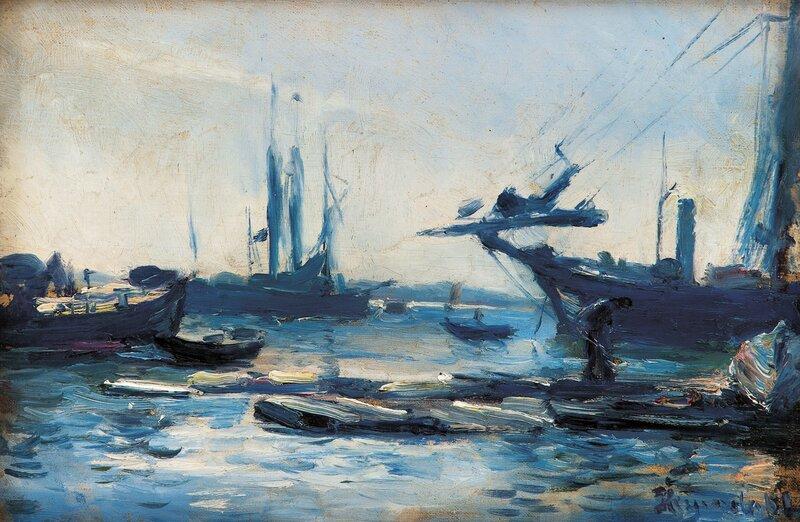 Fra Kristiania havn