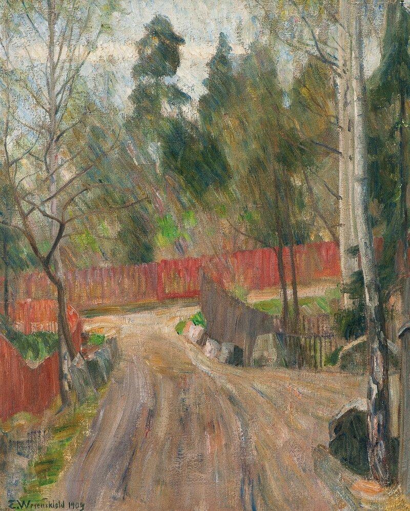 Veikryss 1903