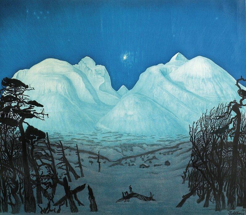 Vinternatt i Rondane 1917