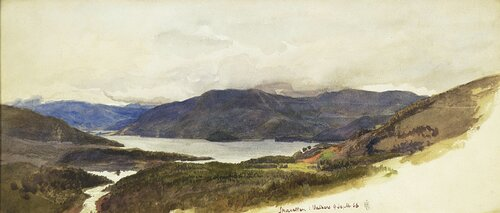 Skavellen i Valders 1866